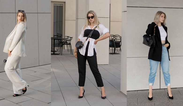 Saskia Denise zeigt drei Outfits für wechselhafte Sommertage
